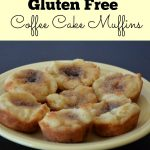 Easy Gluten Free Coffee Cake Muffins