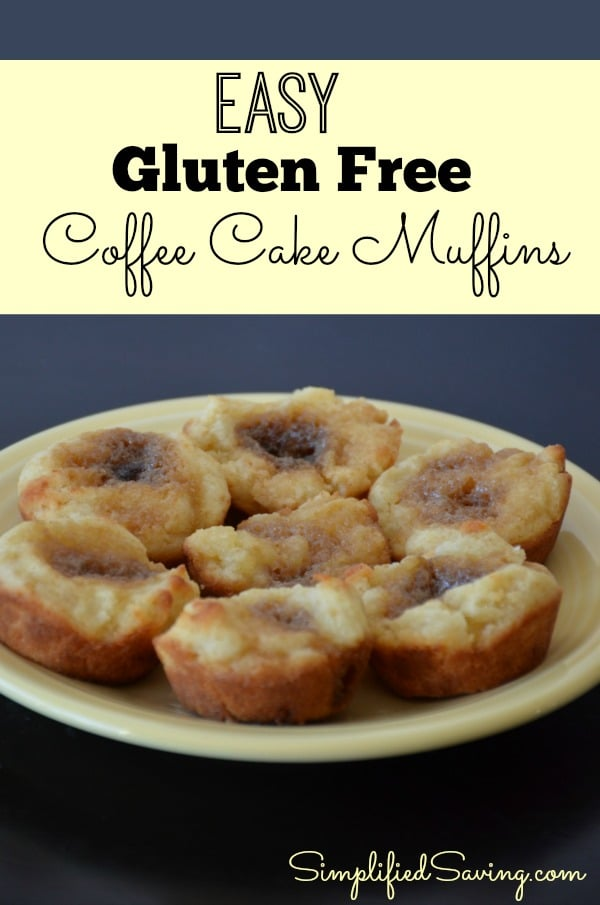 Easy Gluten Free Coffee Cake Muffins Fun Happy Home