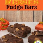 No Bake Reese's Fudge Bars