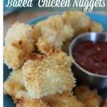 Gluten-Free Baked Chicken Nuggets