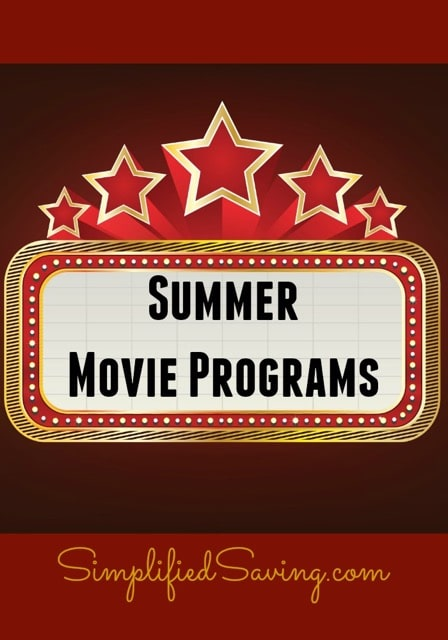 Summer Movie Programs: Free & Frugal Family Fun