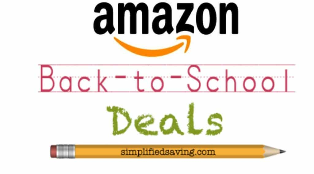 Hot Back to School Deals on Amazon