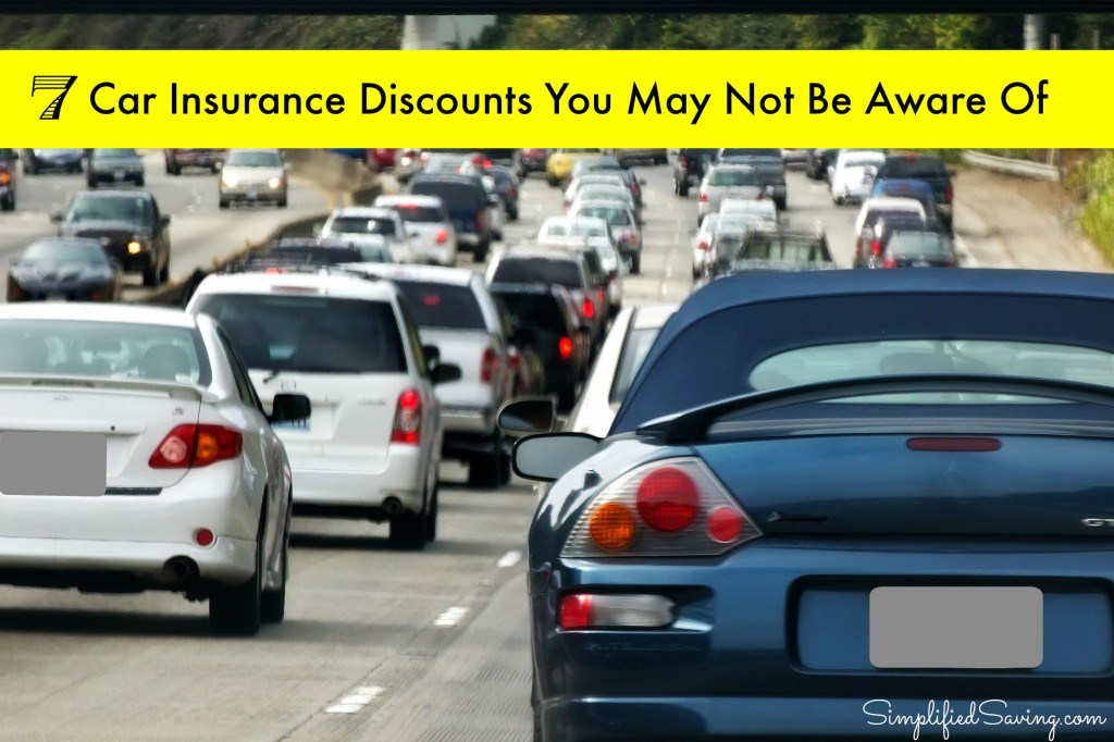 7 Car Insurance Discounts You May Not Have Been Aware of