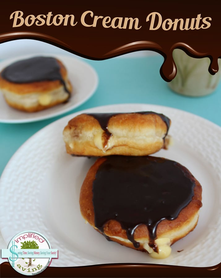 Boston Cream Donuts Recipe