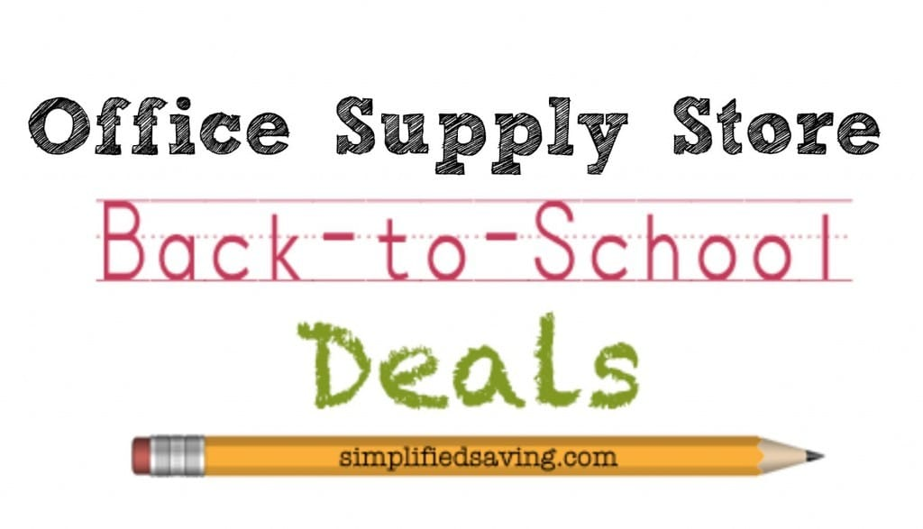 Office Supply Store Back to School Deals {8/2 – 8/8}