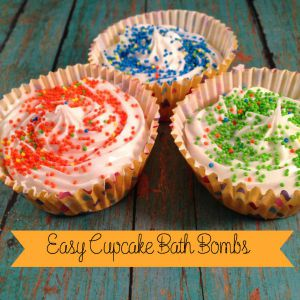 Easy Cupcake BathBombs FHH