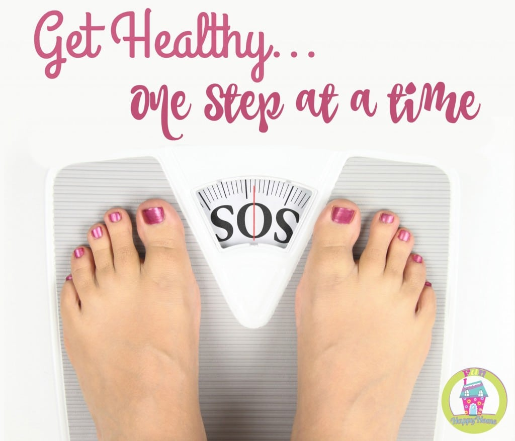 Get Healthy One Step at a time FunHappyHome.com