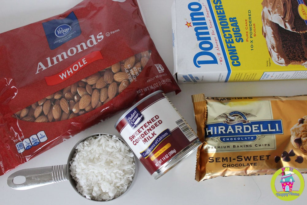 Copycat Almond Joy Ingredients SimplifiedSaving.com