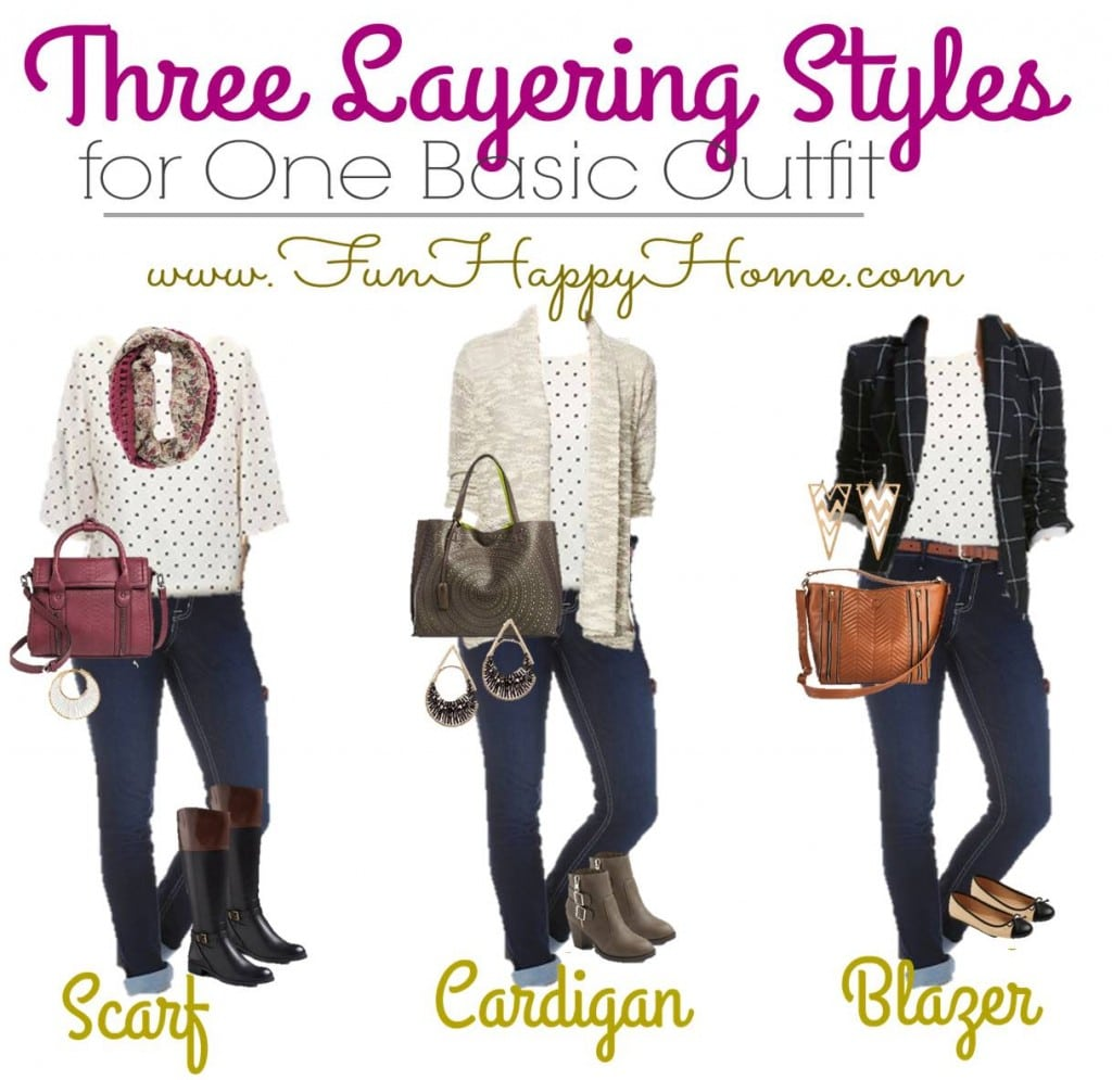 10.26 One Outfit Three Layering Styles Target FUNHAPPYHOME