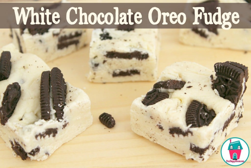 Easy White Chocolate Oreo Fudge Recipe