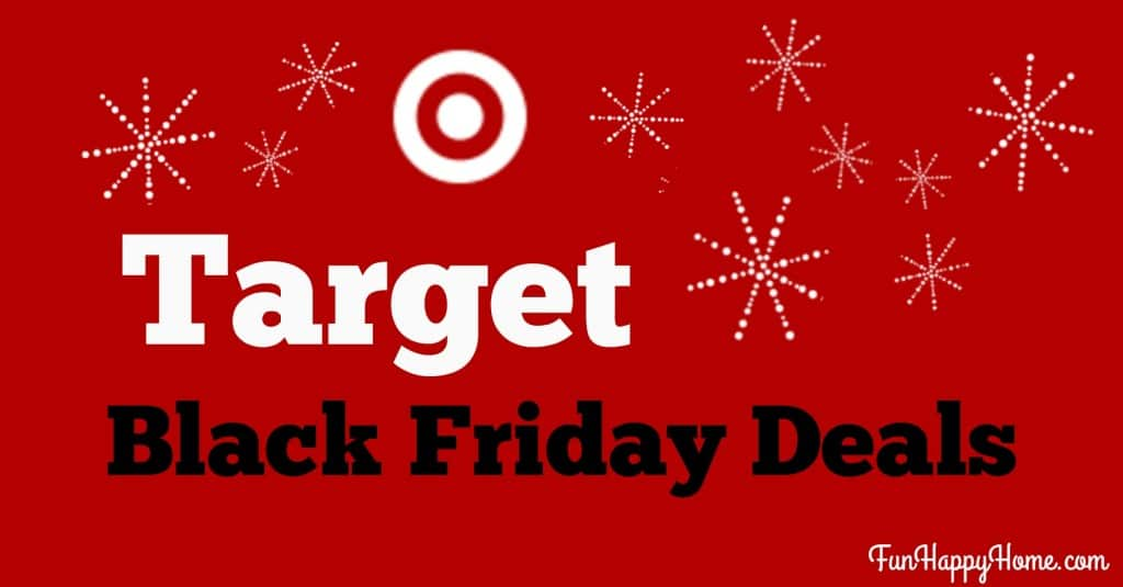 Target Black Friday Deals on Fun Happy Home