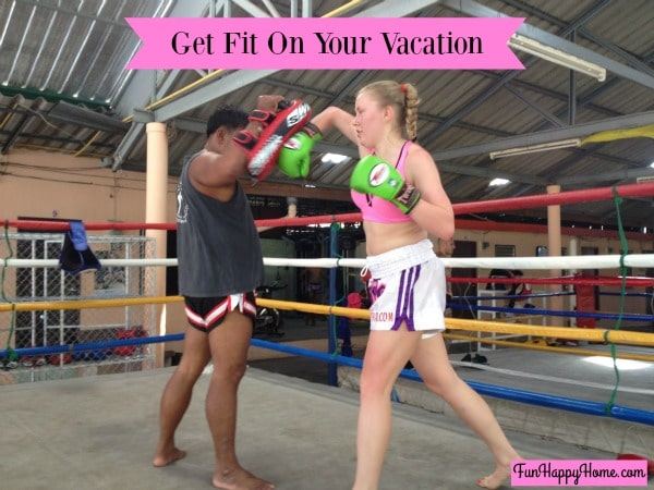 Get Fit with Muay Thai On Your Vacation:  Visit Thailand
