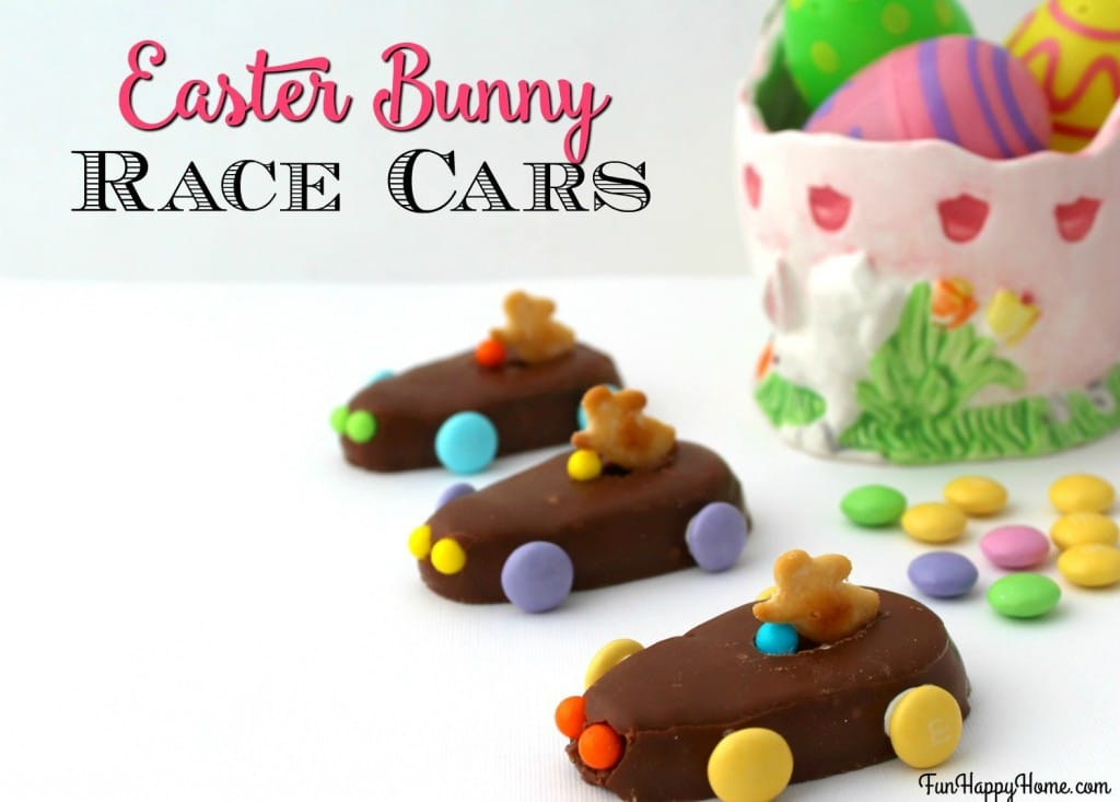 Bunny Race Cars from FunHappyHome.com