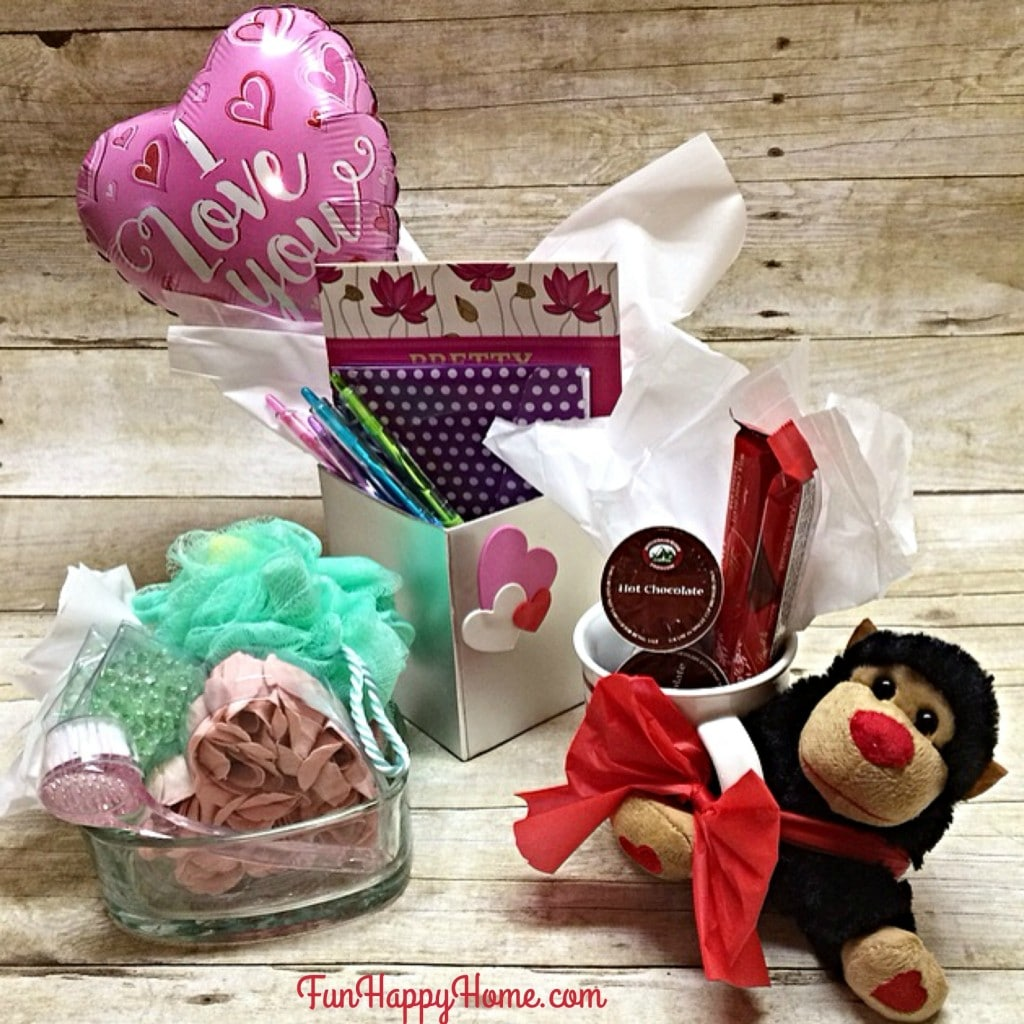 Dollar Store Valentine's Day Gifts from FunHappyHome.com
