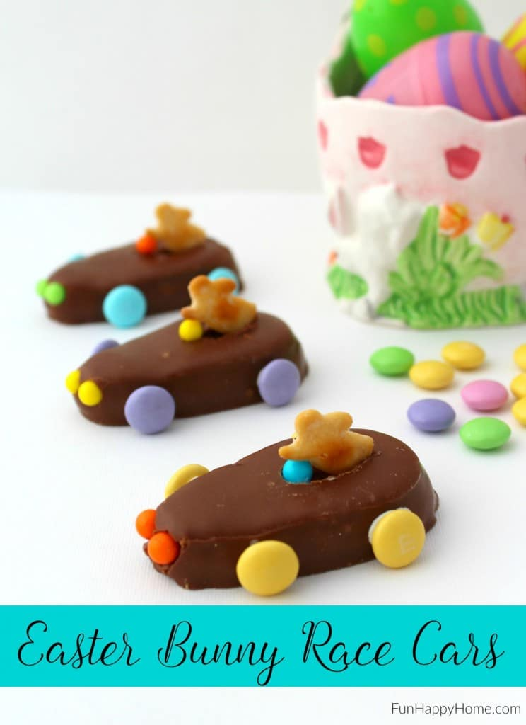 Easter Bunny Race Cars from FunHappyHome.com