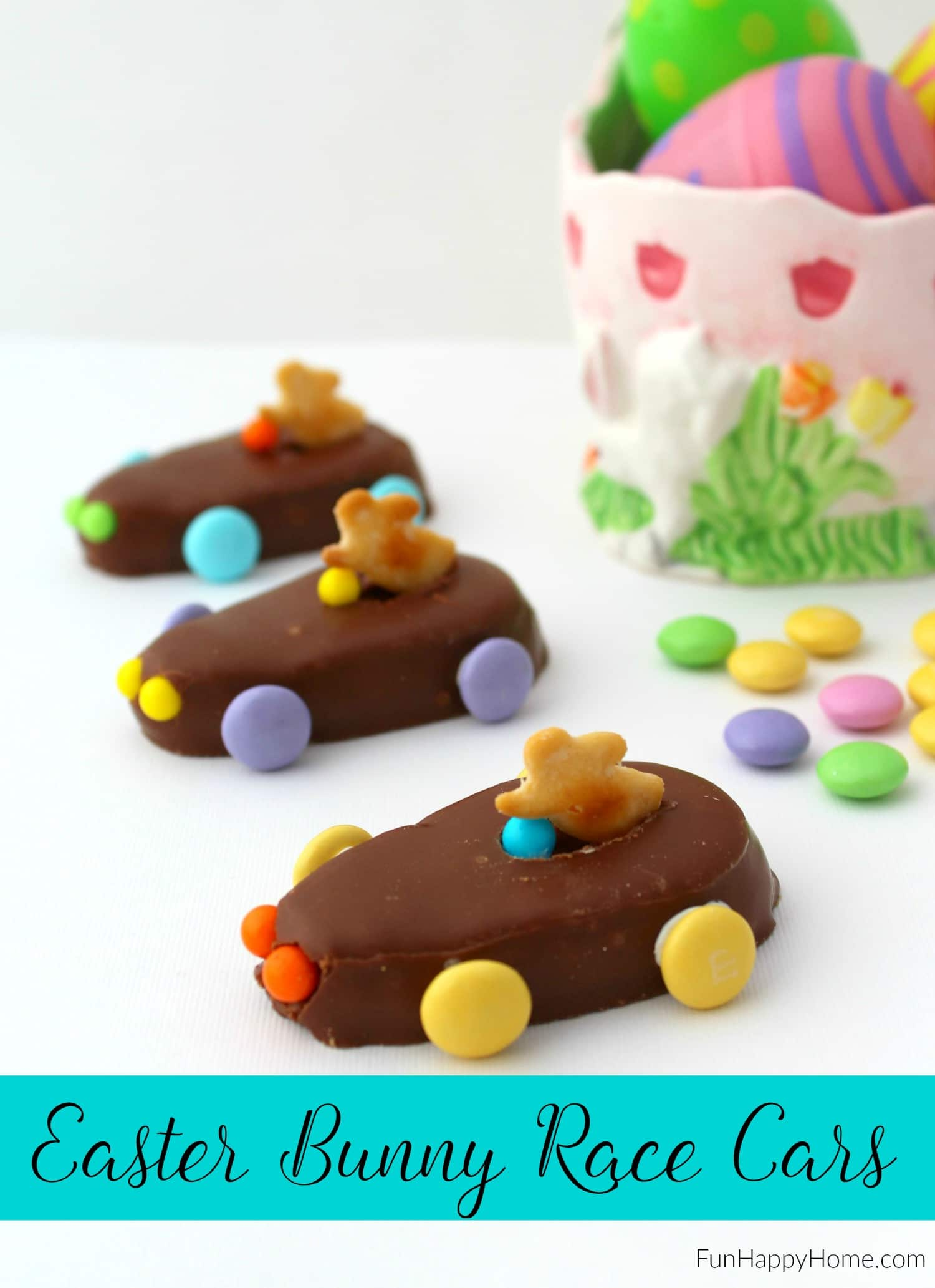 easter bunny race cars an easy recipe that kids can make fun