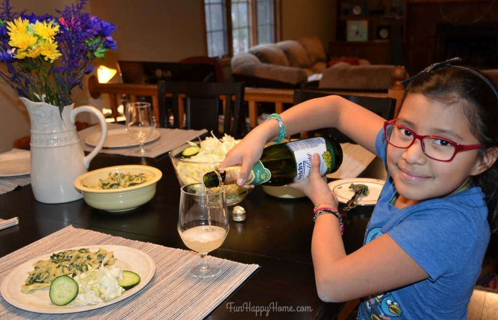 Have your kids help with dinner