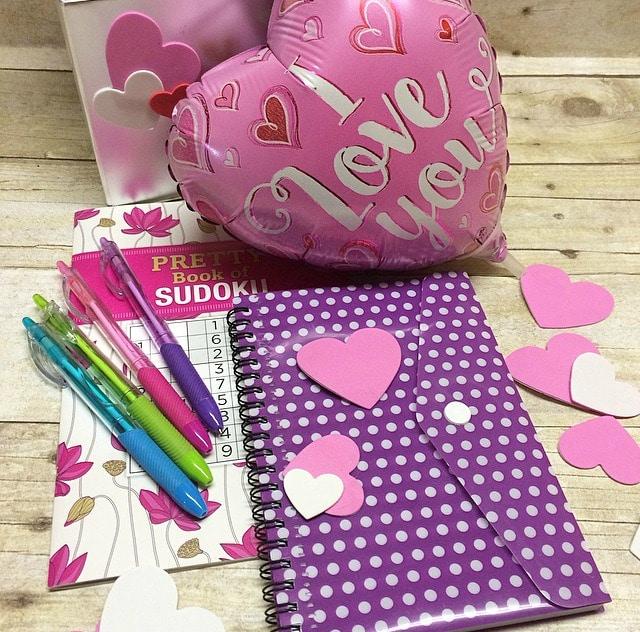 Office Supplies Valentine's Day Gift