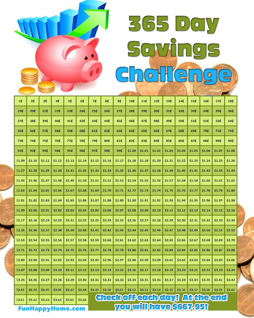 365 day saving...