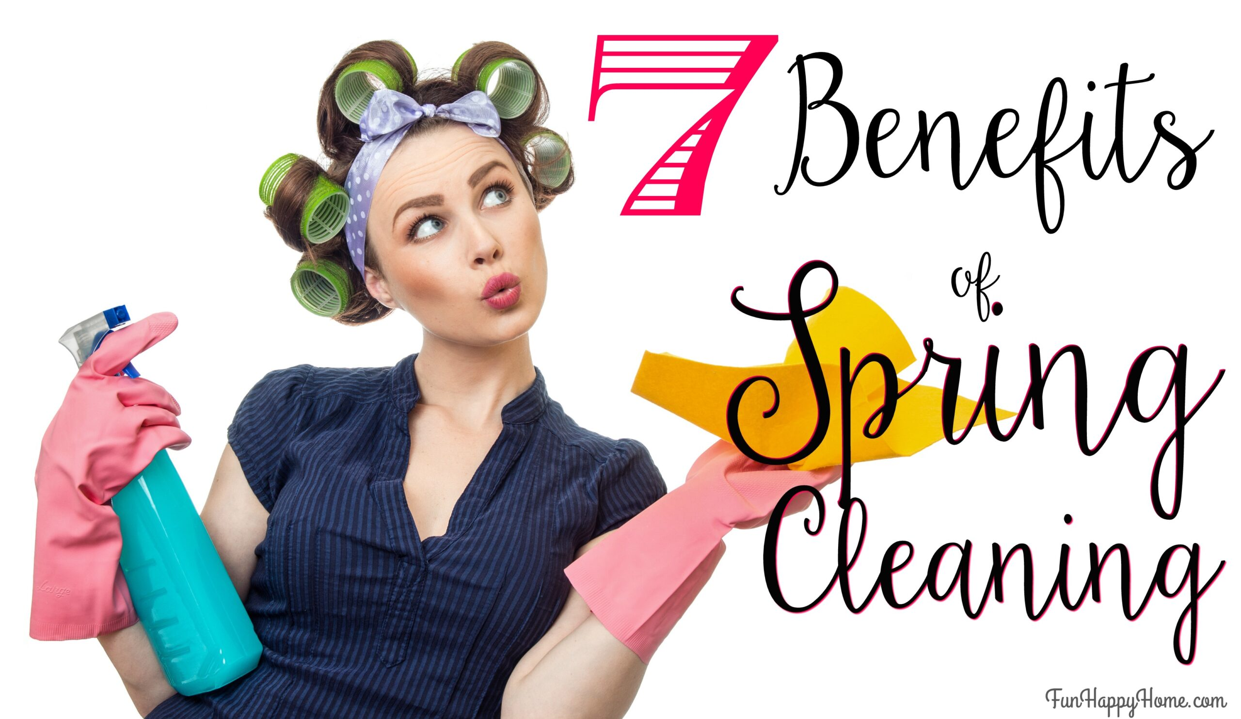 spring cleaning checklist: printable for kids