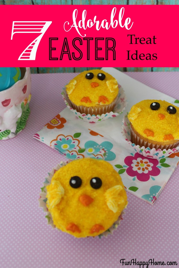 7 Adorable Easter Treats {And They're All Easy to Make}