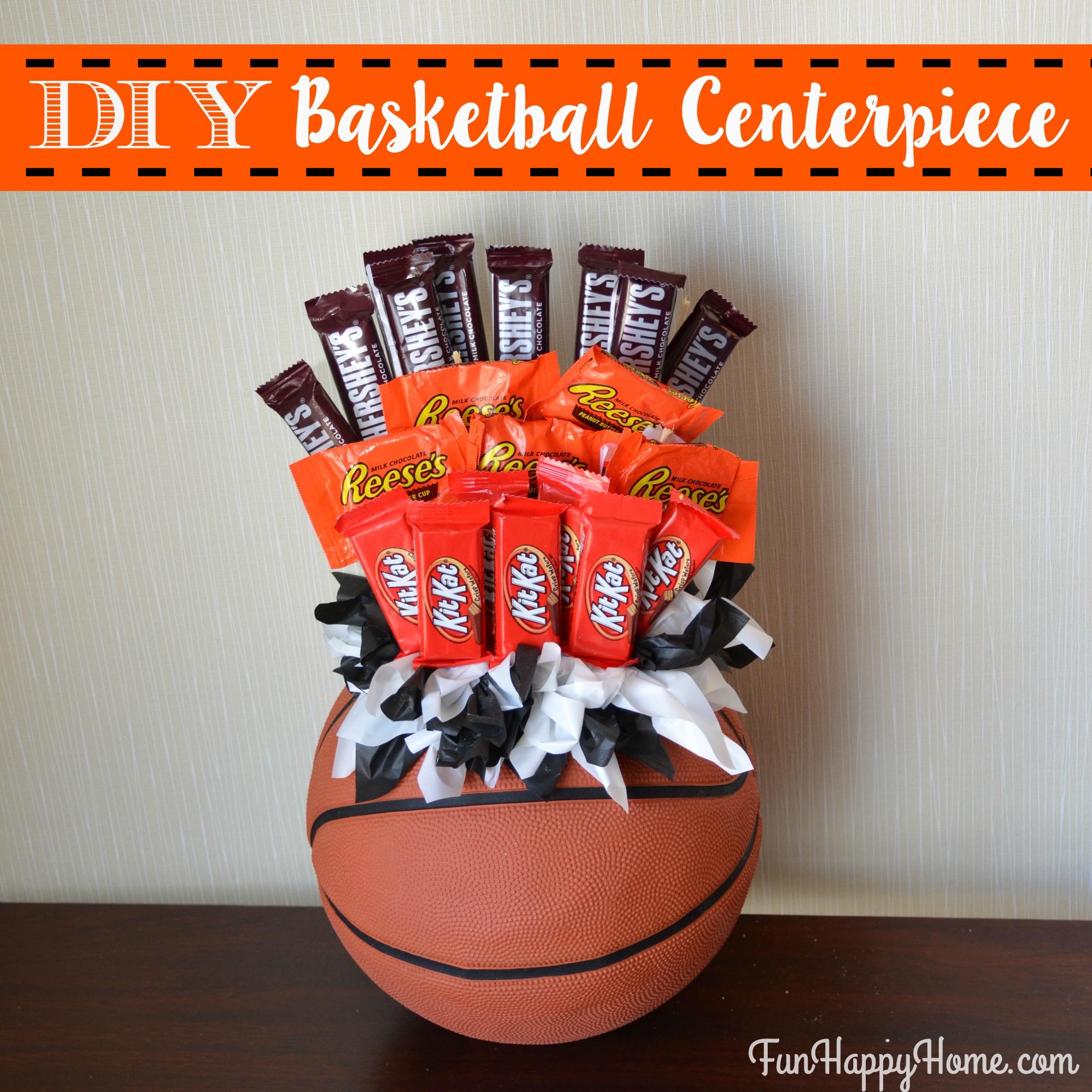 Diy basketball centerpiece a fun candy bouquet diy basketball centerpiece with candy from funhappyhome izmirmasajfo Choice Image