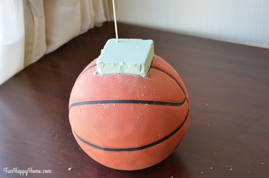 Foam in basketball