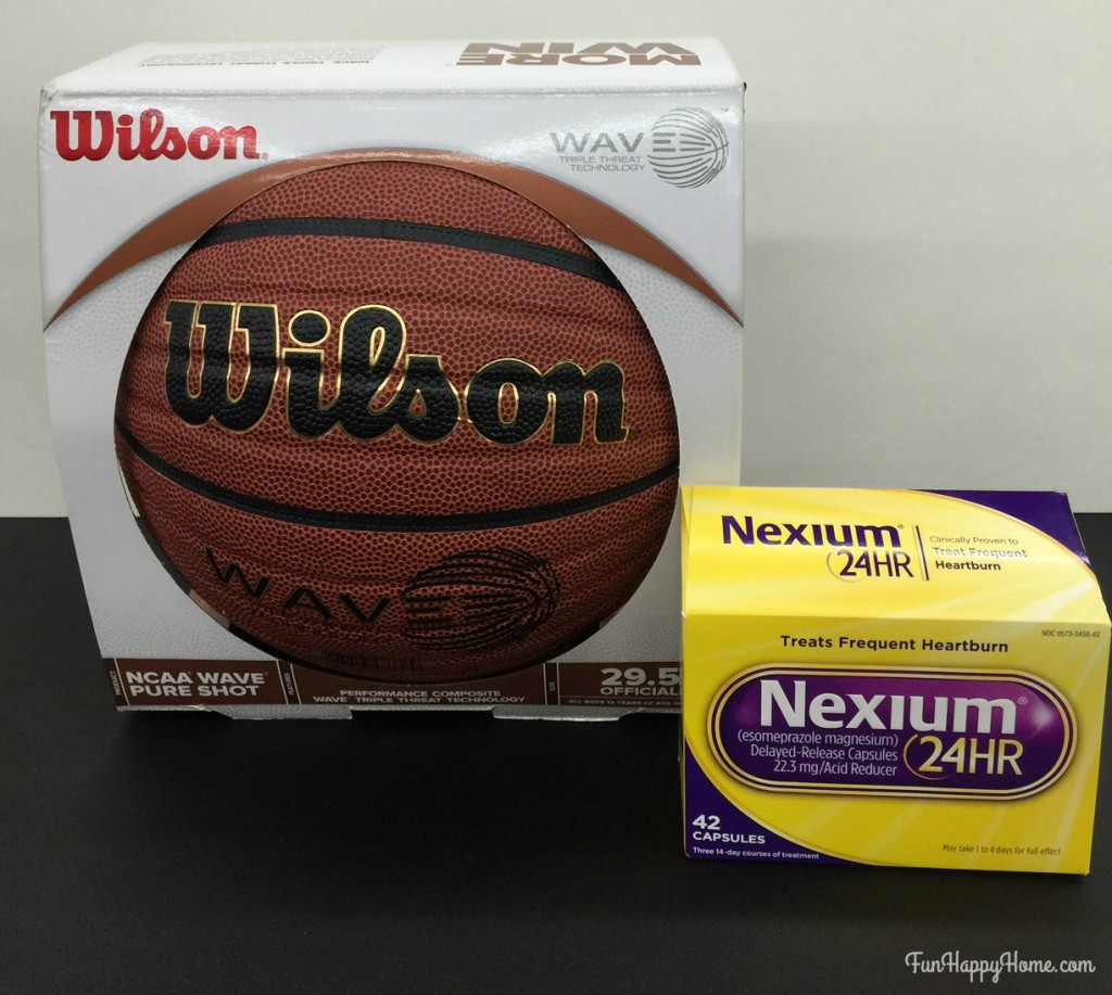Nexium for basketball fans