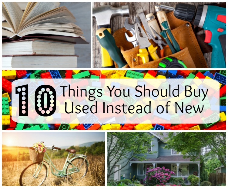 10 Things You Shouldn't Buy New from FunHappyHome.com