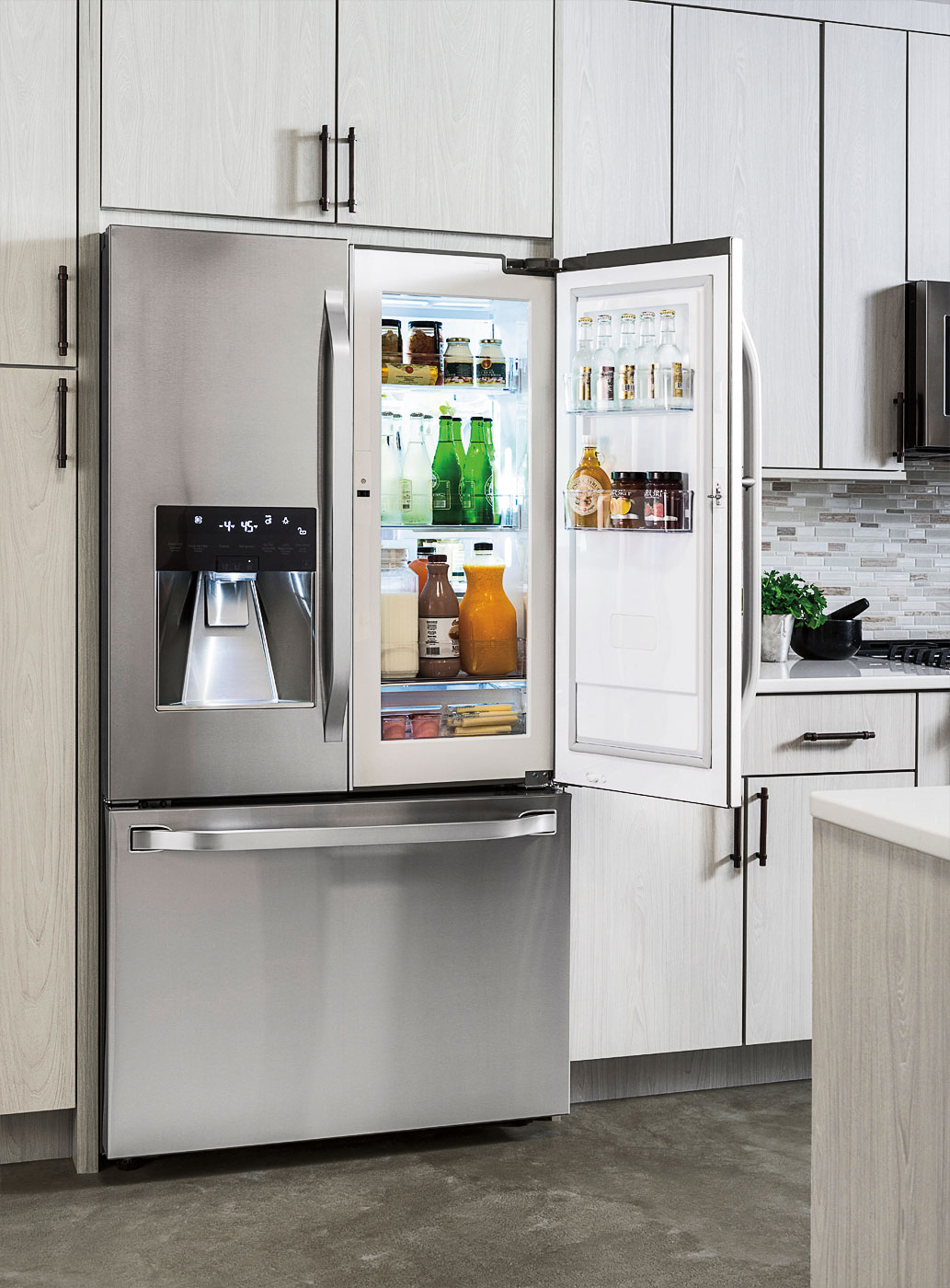 Celebrate Earth Day With An Lg Studio Line Refrigerator