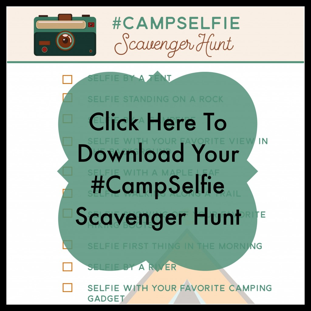 Download Your #CampSelfie Scavenger Hunt from FunHappyHome.com