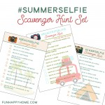 #SummerSelfie Scavenger Hunt {And FREE Printables}