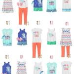 Girls Mix and Match Summer Wardrobe from Gymboree