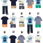 Boys Mix and Match Summer Wardrobe from Gymboree