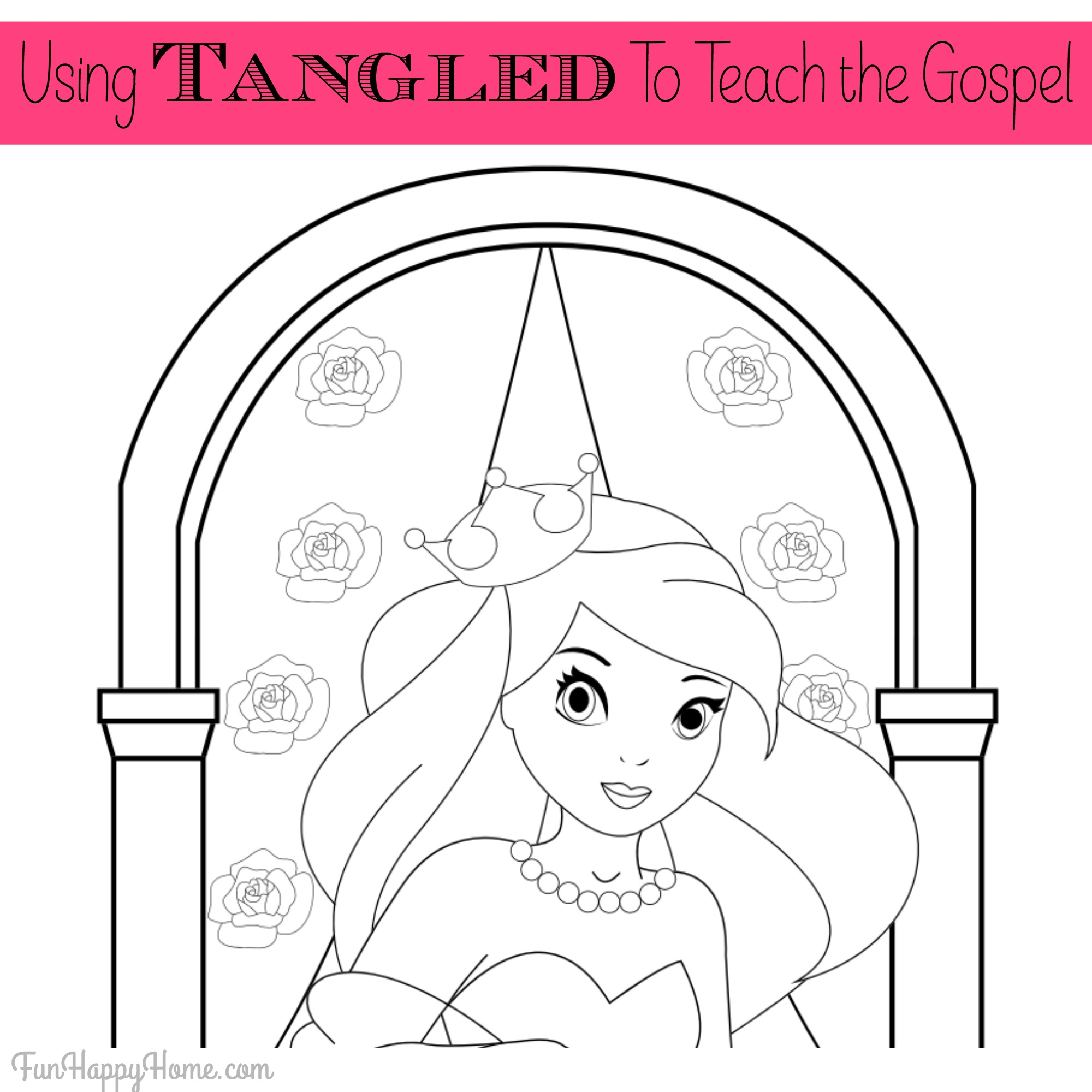 It's just a graphic of Rapunzel Printable Coloring Pages pertaining to cute