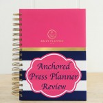 Anchored Press Planner Review #AnchoredinGod