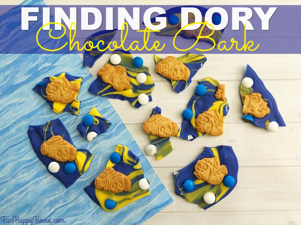 Finding Dory Chocolate Bark