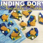 Finding Dory Chocolate Bark {The Perfect Finding Dory Snack}
