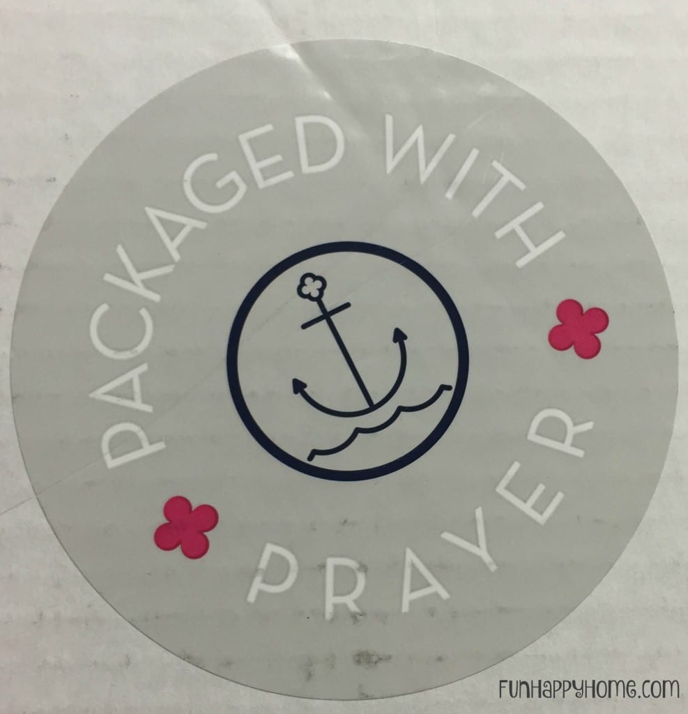 Packaged With Prayer Anchor Press Planner