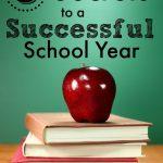3 Secrets to a Successful School Year