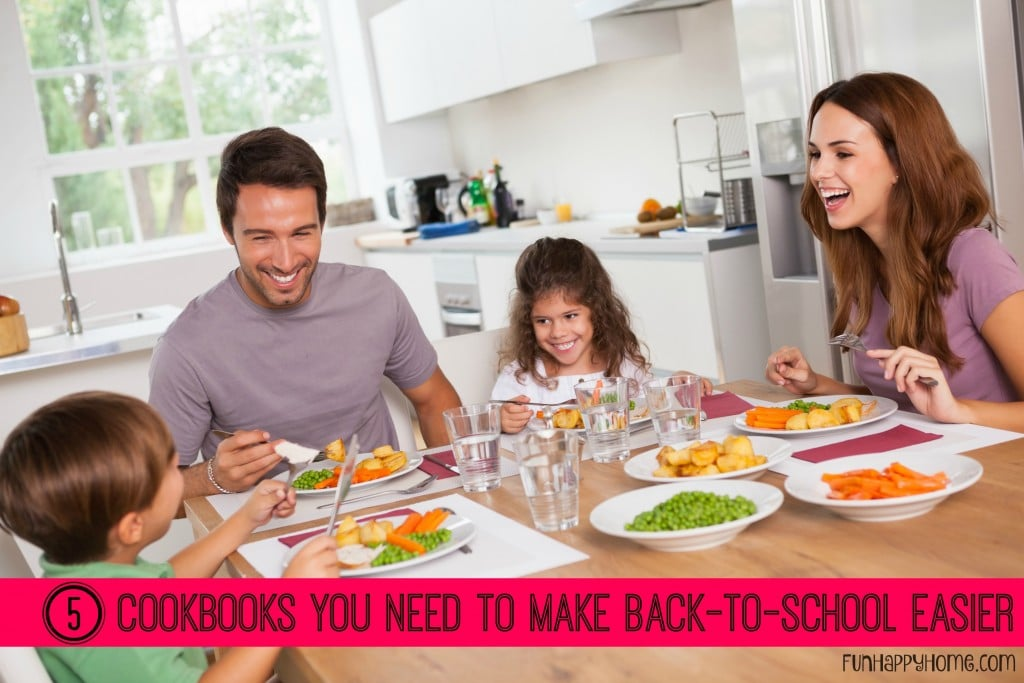 5 Cookbooks You Need to Make Back To School Easier