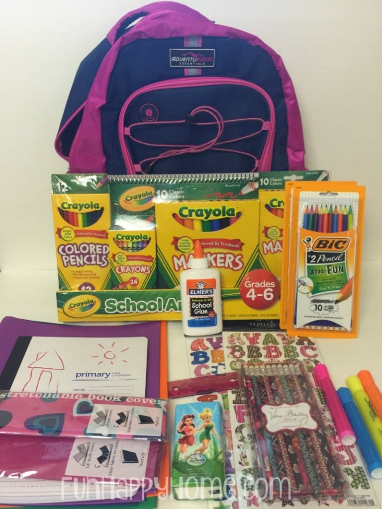 Backpack and School Supplies for Giving BackPacks