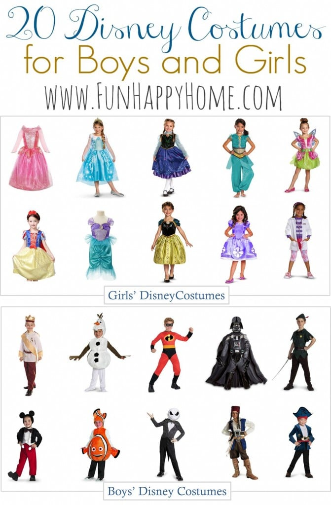 Disney Costumes for Kids