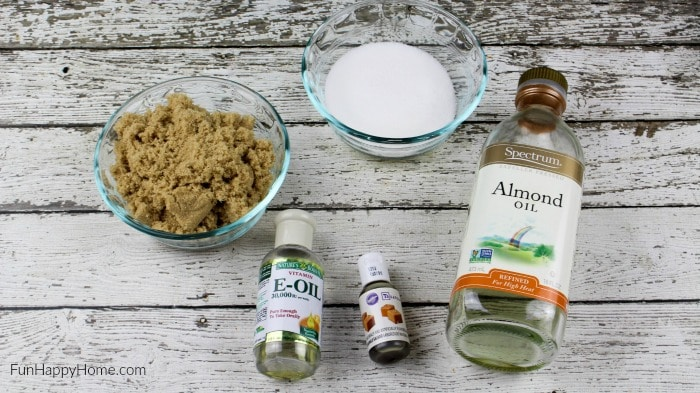 DIY Body Scrub: This Salted Caramel Body Scrub is a super easy homemade beauty product that will make you feel pampered in no time!