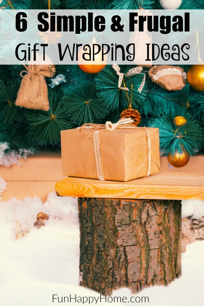 Gift Wrapping Ideas that think outside the box are just what you need to save time & money this holiday season! Check out our favorite gift wrapping ideas!
