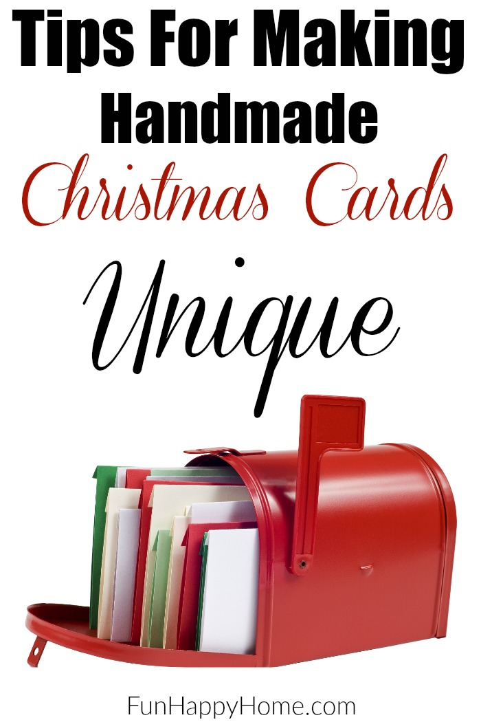 Handmade Christmas Cards are a great way to save money and create something fun to gift to others. Check out our tips for making them unique and affordable!