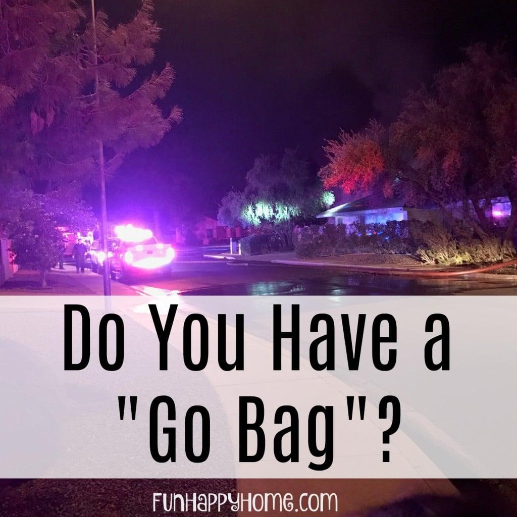 Do You Have a Go Bag