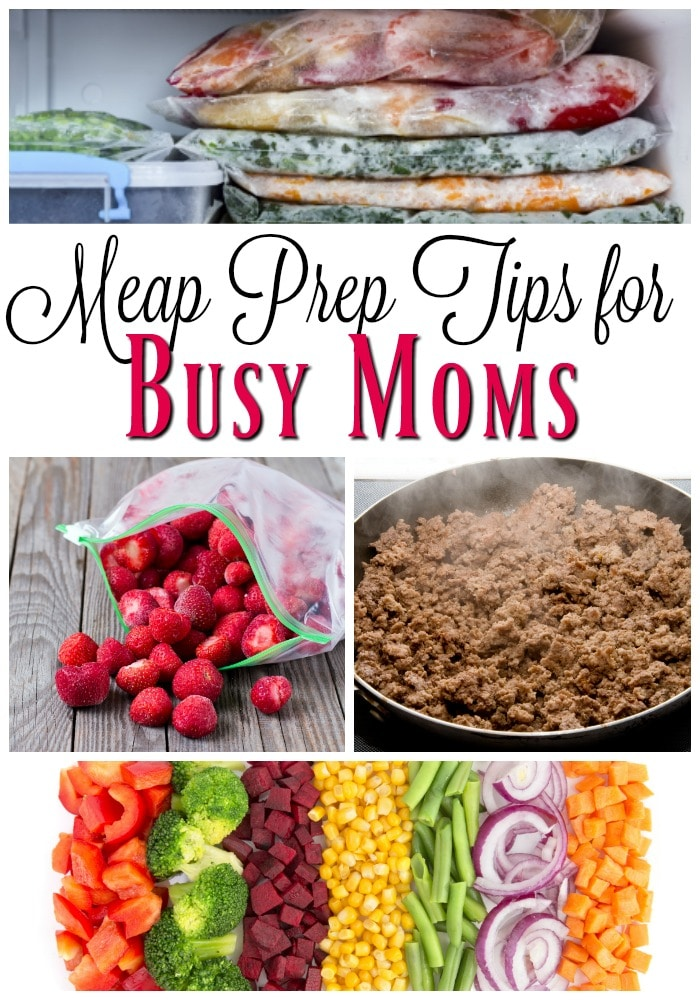 Meal Prep Tips For Busy Moms