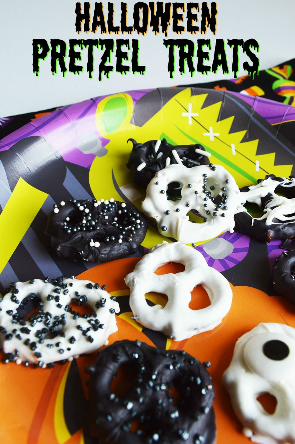Halloween Pretzel Treats An Easy Chocolate Covered