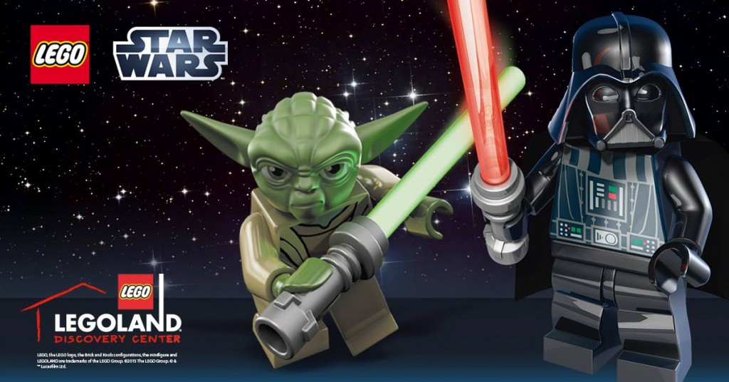 LEGO Star Wars Days is coming to LEGOLAND Discovery Center!